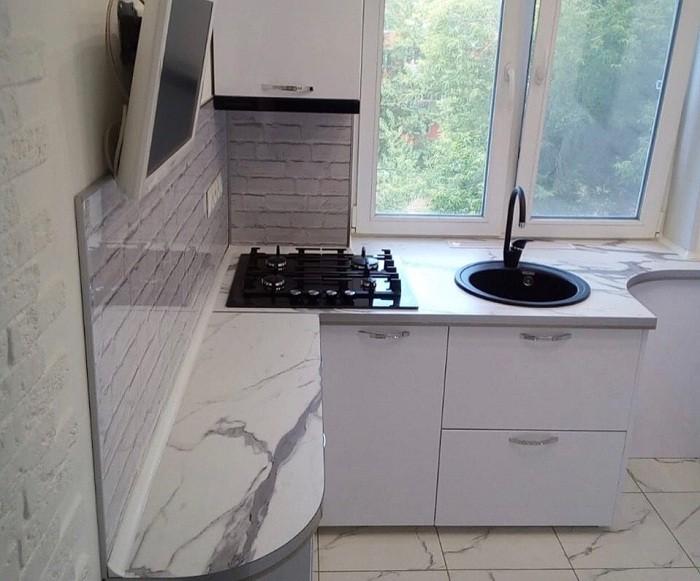 Дизайн кухни 5 кв.м в «хрущевке»