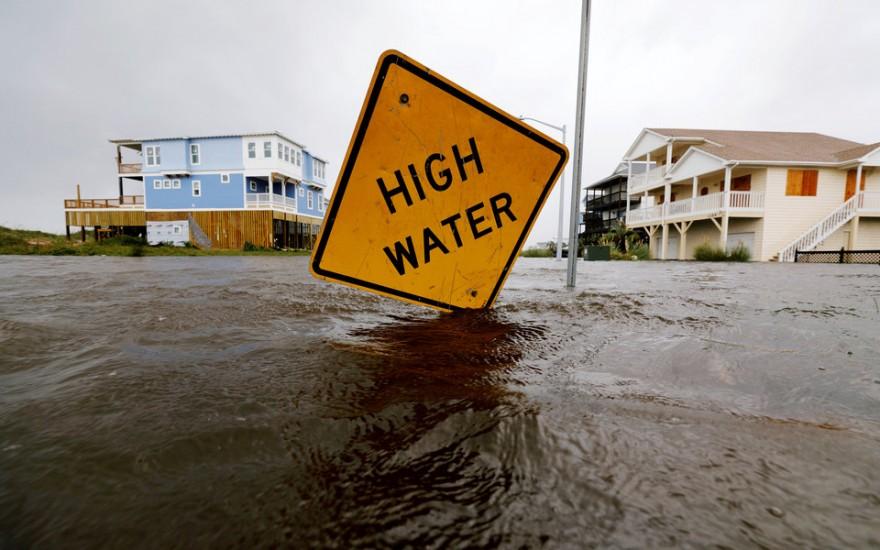 Восточное побережье США после урагана «Флоренс»