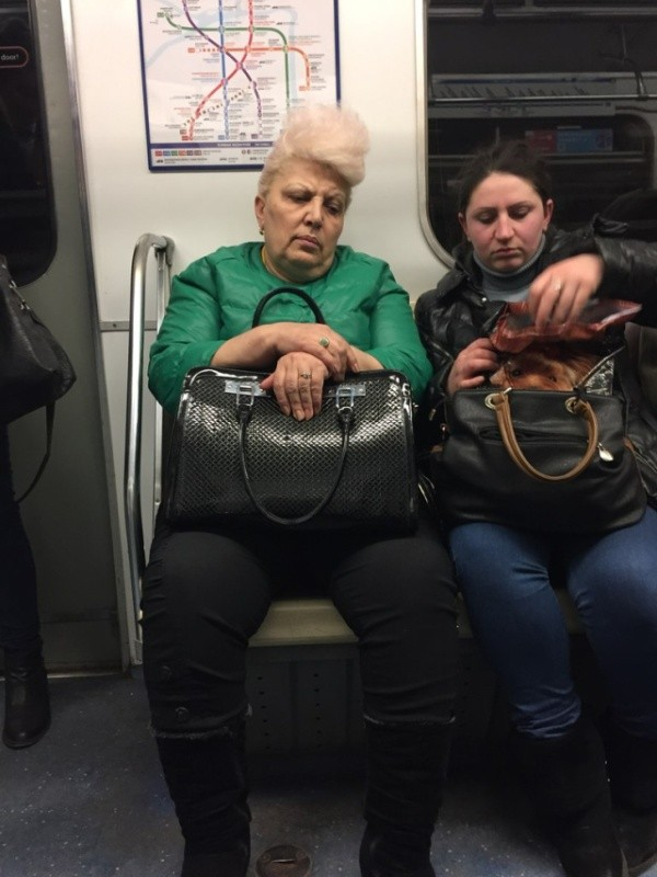 Наше модное метро (41 фото)