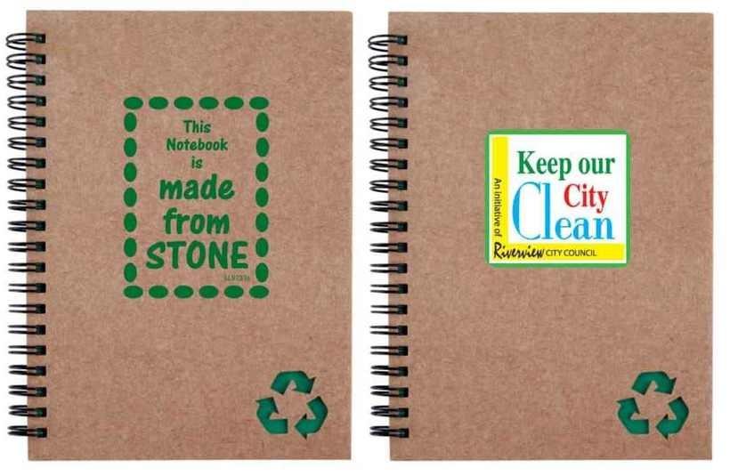 Каменная бумага из известняка — прекрасная альтернатива вырубке деревьев