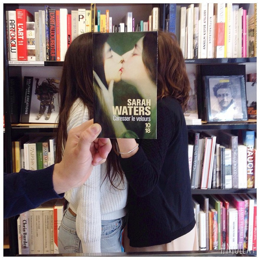 Необычная реклама от французского книжного магазина
