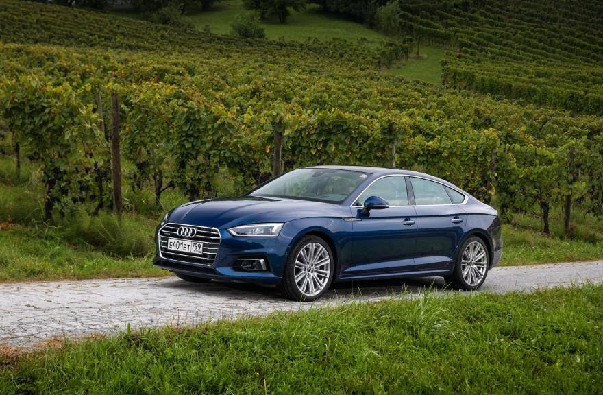 Audi представила новое поколение A5