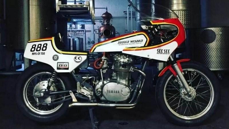 Мотоцикл, который ездит на водке