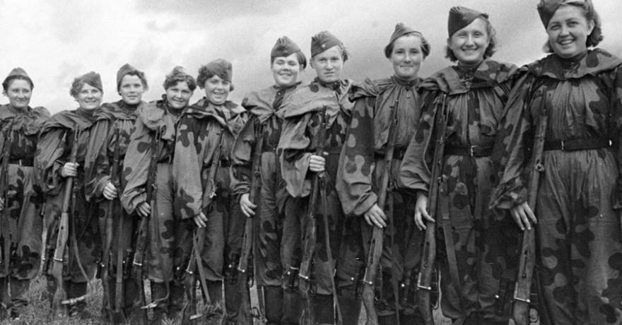 Советские женщины-снайперы