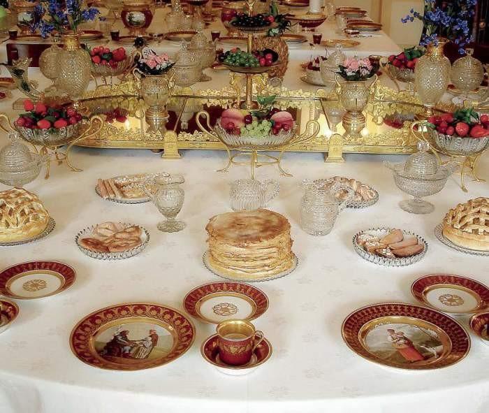 Любимые блюда русских императоров