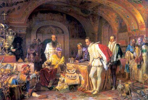 Выходки русских монархов
