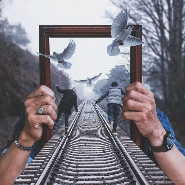 Удивительные работы, сделанные в Photoshop (35 фото)