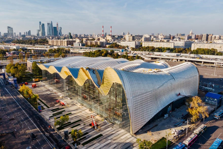 Строительство нового спортивного объекта Москвы