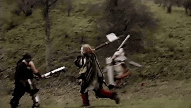 Современные рыцарские схватки (14 гифок)