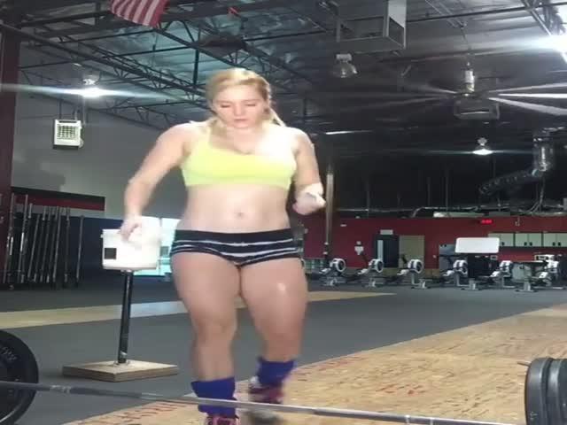 Тренировка не может не радовать