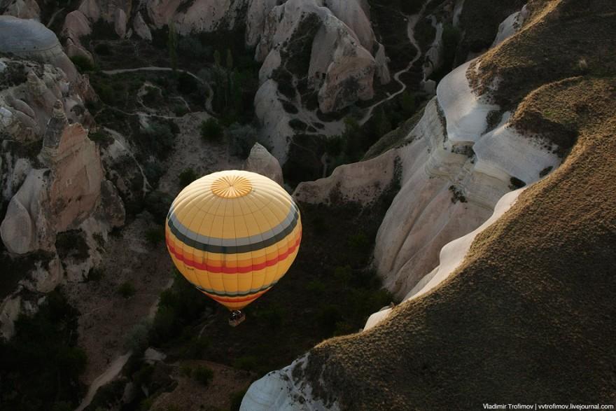 Каппадокия с высоты птичьего полета