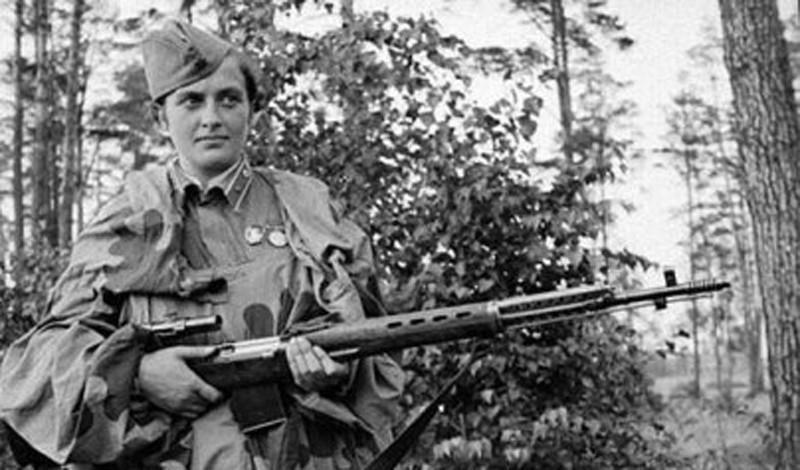 Лучший снайпер Второй мировой