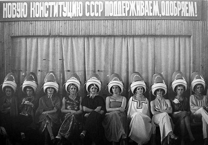 Какие прически были популярны в СССР