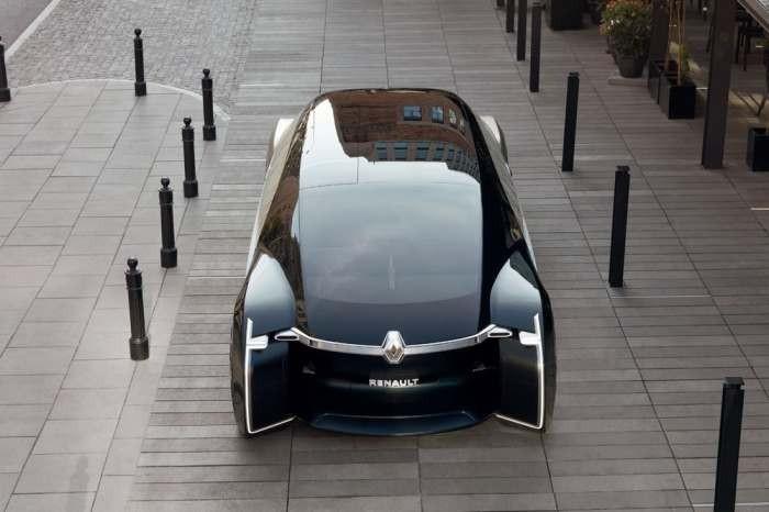 Компания Renault представила автомобиль-робот