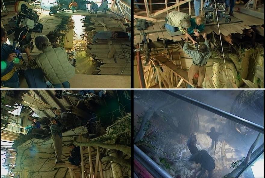 Как снимали фильм «Джуманджи»