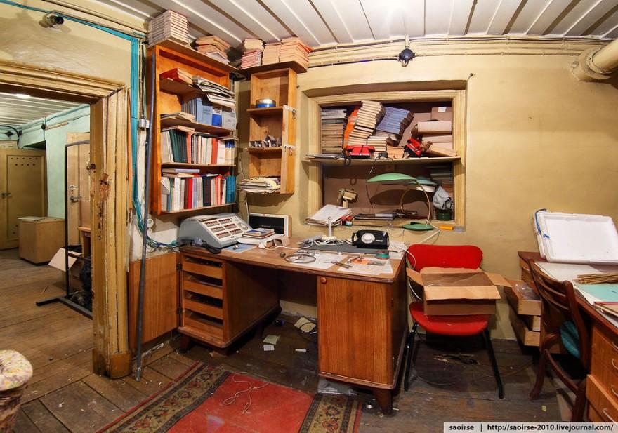 Экскурсия по убежищу под институтом РАН