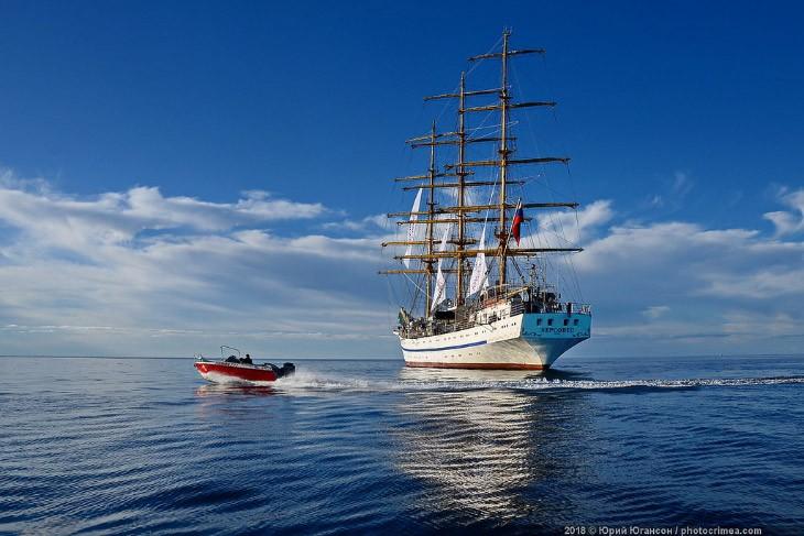 Паруса в «Новом Свете»: фрегат Херсонес