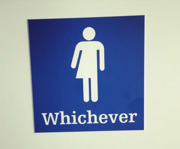 Креативные туалетные таблички