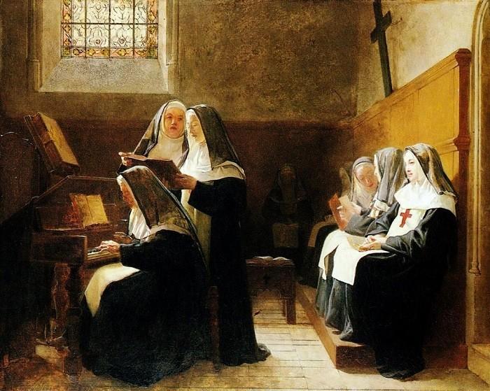 Зачем женщины маскировались под монахинь