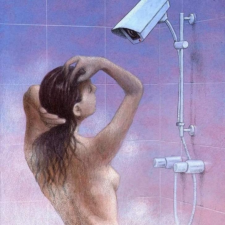 Работы польского художника, который видит то, что другие предпочитают не замечать