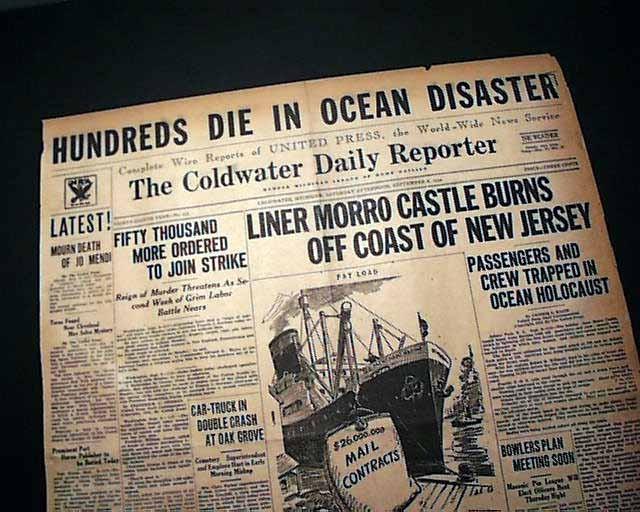 Бедствие на лайнере, устроенное национальным героем США