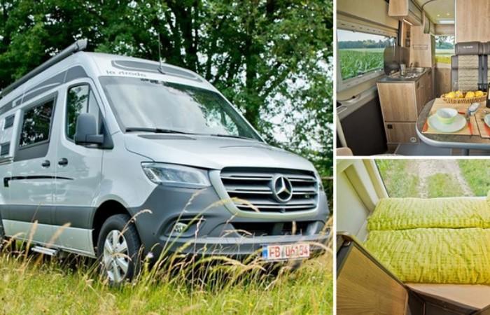 Немецкие мастера превратили Mercedes-Benz в дом на колесах