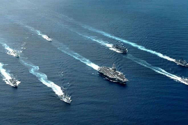 Китай строит тайную морскую армаду