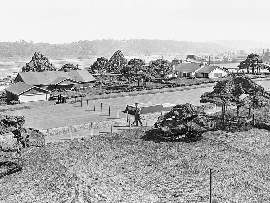 Как американцы во время войны спрятали целый завод