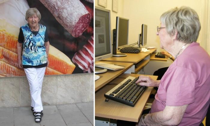 106-летняя женщина-блогер Дагни Карлссон из Швеции