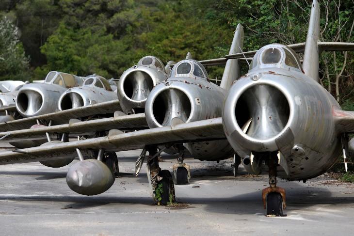 Экскурсия по кладбищу советских самолетов