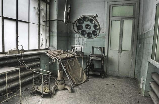 Заброшенные места-призраки
