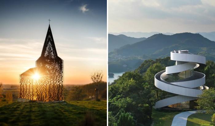 Храмы, которые стали уникальными образцами современной архитектуры