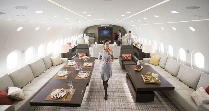 Летающий пентхаус за 25 тысяч долларов в час