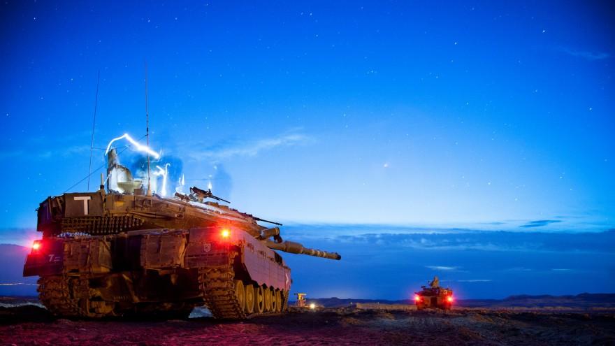 Как устроен современный танк Merkava