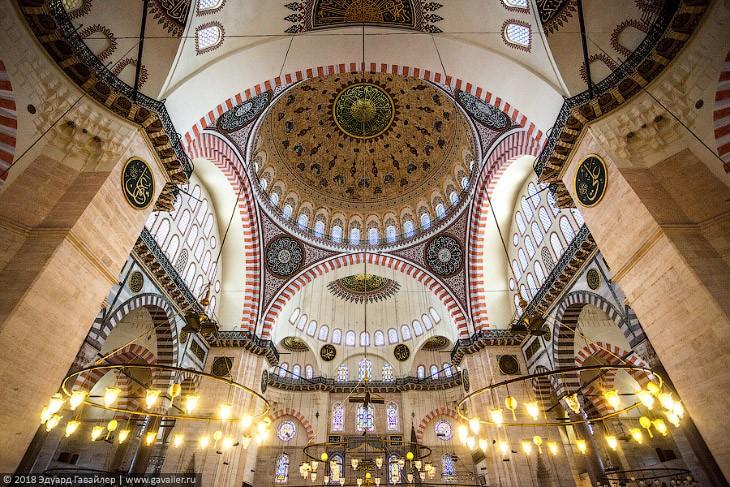 Самые красивые мечети османских султанов