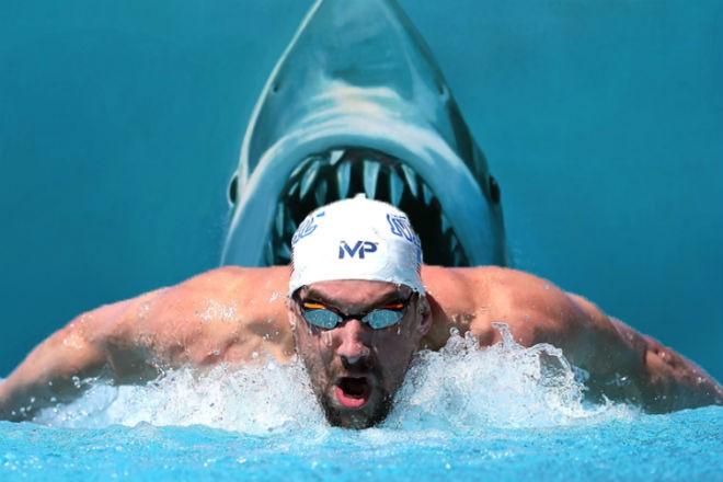 Майкл Фелпс – самый мощный пловец в мире
