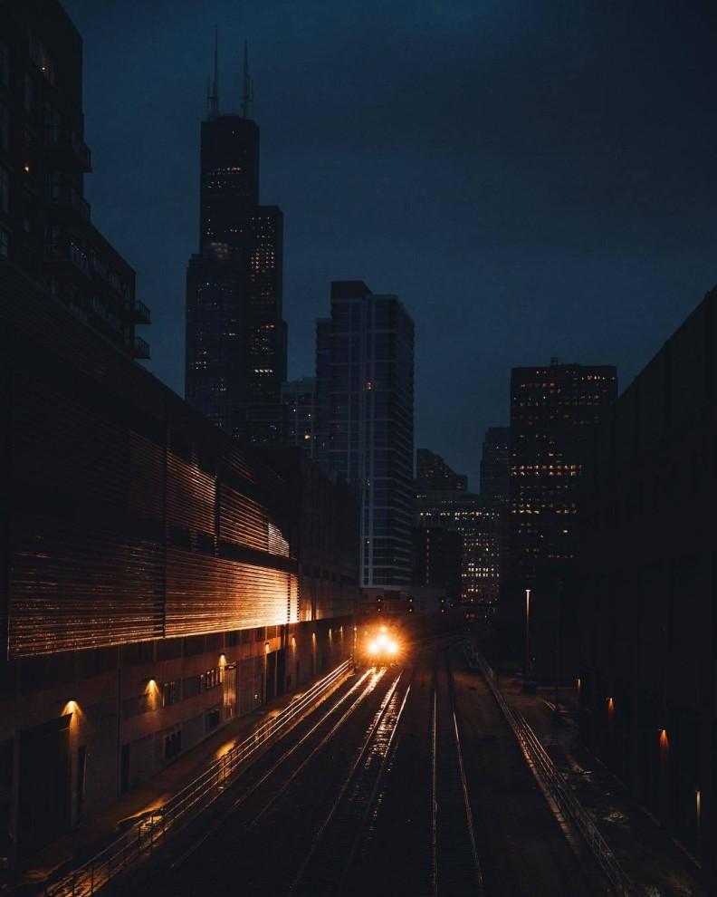 Как выглядел бы Чикаго без жителей