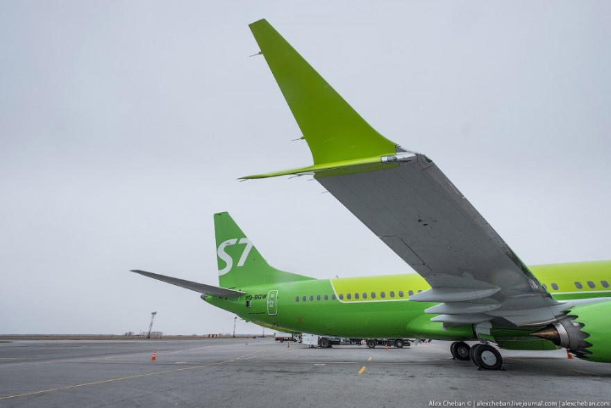 Первый Боинг 737 MAX