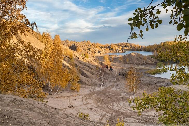 Марсианские пейзажи на территории России