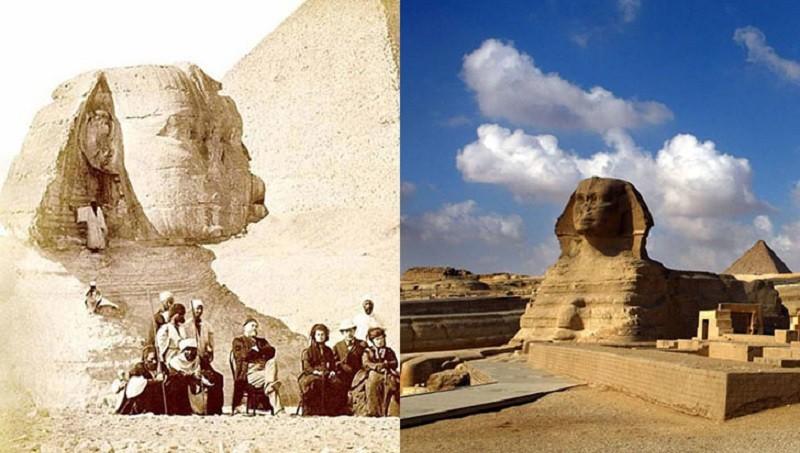 Любимые туристами места столетие назад
