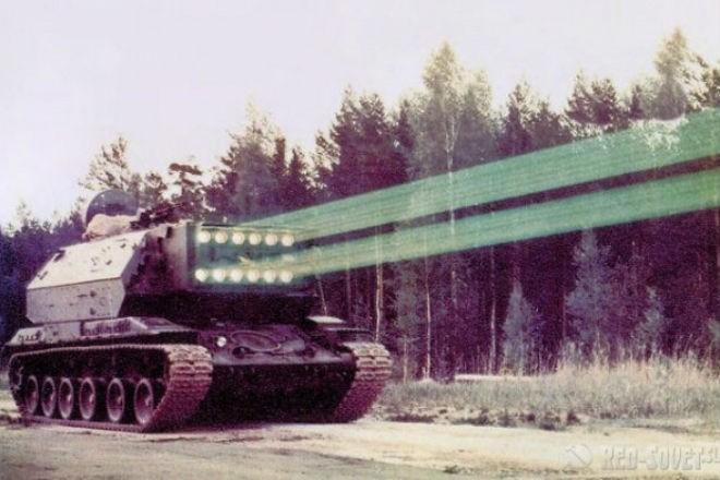 Советский секретный лазерный танк