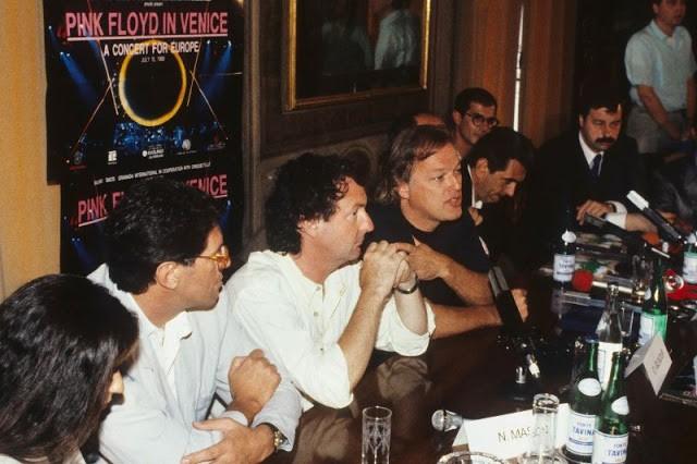 Исторический концерт Pink Floyd на площади Сан-Марко