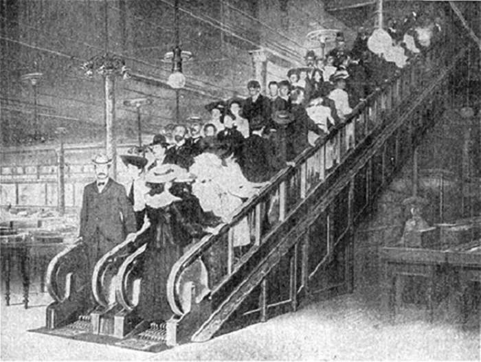 Как устроен эскалатор