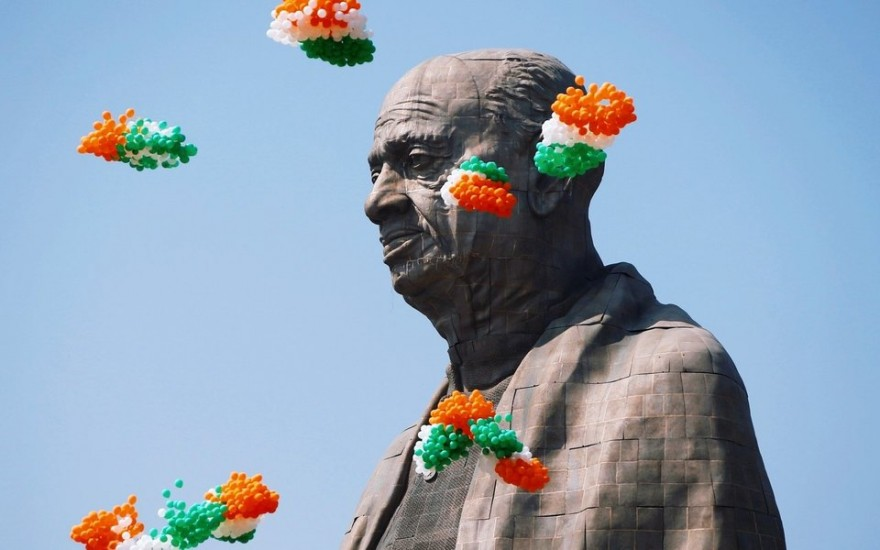 Самую высокую статую в мире установили в Индии