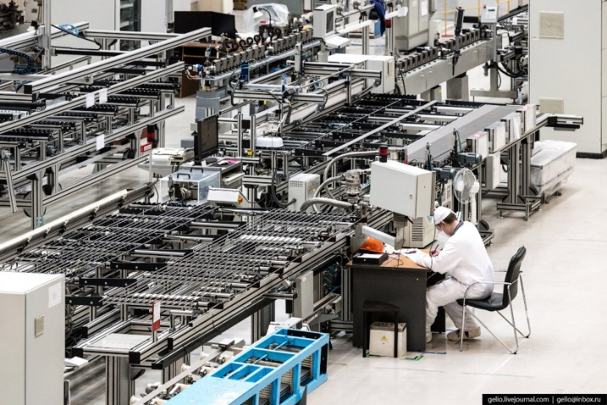 Процесс производства ядерного топлива в Новосибирске