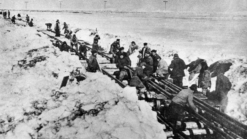 Сталинская дорога смерти в Заполярье