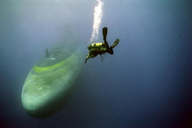 Как происходит тренировка подводных спасателей