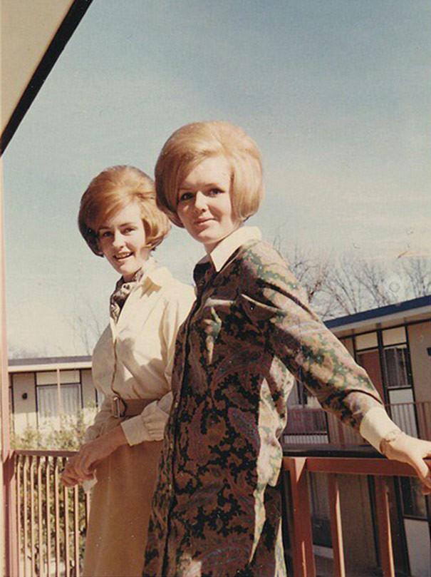 Ох уж эти женские прически 60-х!