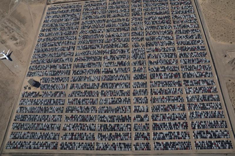 Как выглядит самое большое кладбище Volkswagen в США