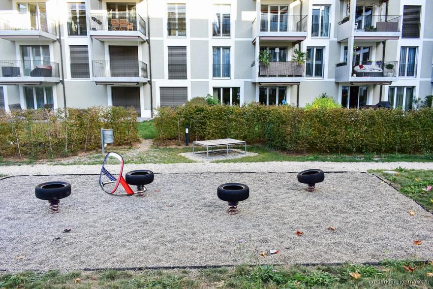 Как в Швейцариии строят новые районы